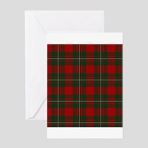 Scottish Clan MacGregor Tartan Greeting Cards