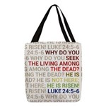 He is Risen Polyester Tote Bag