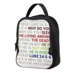 He is Risen Neoprene Lunch Bag