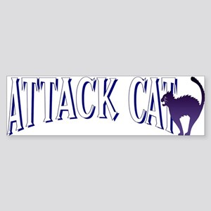 Attack Cat Bumper Sticker