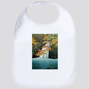 Senju Waterfall, Akame - Kawase Hasui Baby Bib