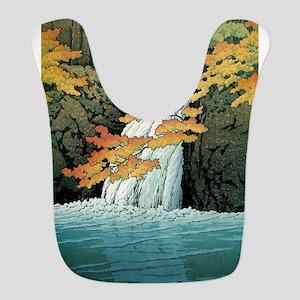 Senju Waterfall, Akame - Kawase Polyester Baby Bib
