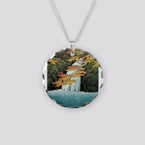 Senju Waterfall, Akame - Kaw Necklace Circle Charm