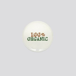 100% Organic Mini Button