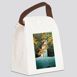 Senju Waterfall, Akame - Kawase H Canvas Lunch Bag