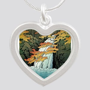 Senju Waterfall, Akame - Kawase Hasui Necklaces