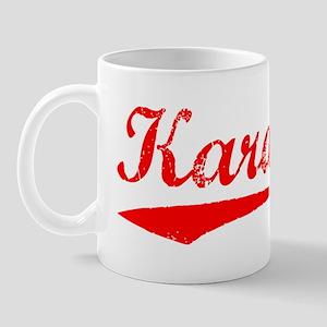Vintage Karachi (Red) Mug
