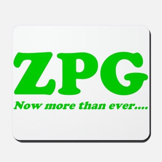 ZPG Mousepad