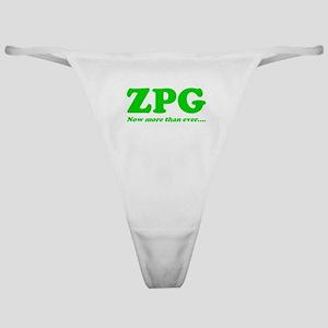ZPG Classic Thong