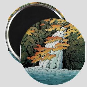 Senju Waterfall, Akame - Kawase Hasui Magnets