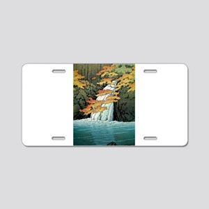 Senju Waterfall, Akame - Ka Aluminum License Plate