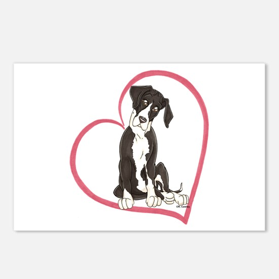 NMtl Heart Pup Postcards (Package of 8)