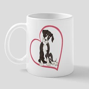 NMtl Heart Pup Mug