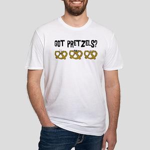 Got Pretzels Fitted T-Shirt