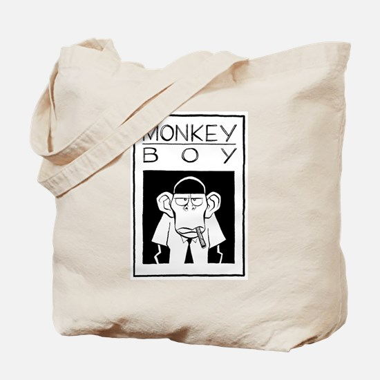 Cute Monkey boy Tote Bag