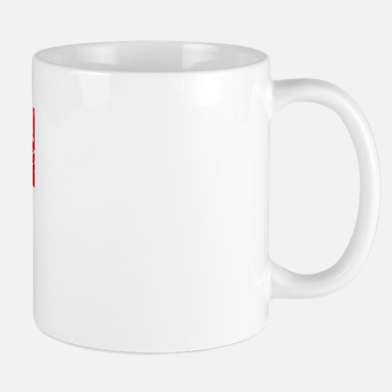 Suisun City Faded (Red) Mug