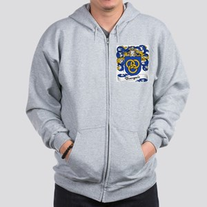 Bourgeois Family Crest Sweatshirt