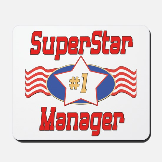 Superstar Manager Mousepad