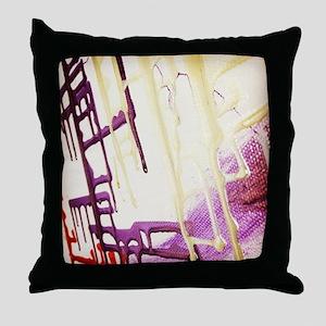 Unicorn Circuitry 1.0 Throw Pillow