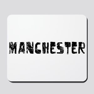 Manchester Faded (Black) Mousepad