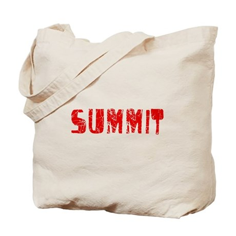 Summit Faded (Red) Tote Bag