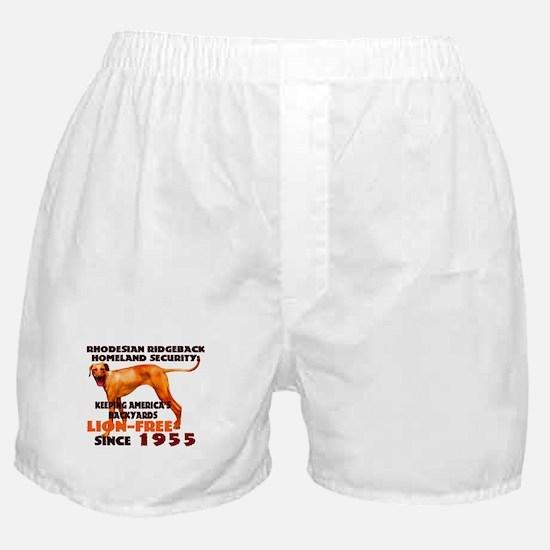 Ridgeback Security Boxer Shorts
