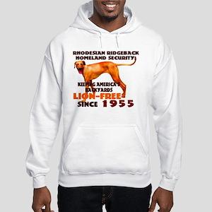 Ridgeback Security Hooded Sweatshirt