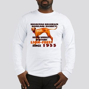 Ridgeback Security Long Sleeve T-Shirt