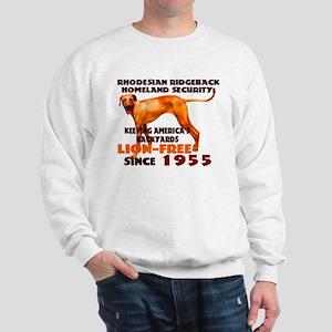 Ridgeback Security Sweatshirt