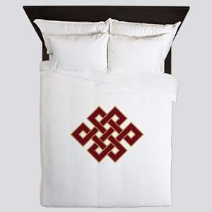 Endless knot Queen Duvet