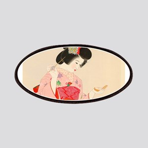 Vintage Japanese Geisha Lady Woman Girl Orie Patch