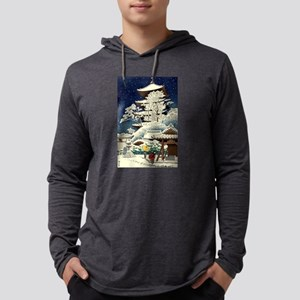 Cool Japanese Oriental Snow Wi Long Sleeve T-Shirt
