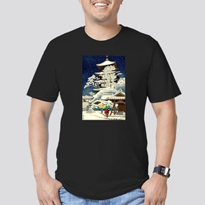 Cool Japanese Oriental Snow Winter T-Shirt