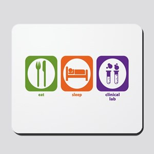 Eat Sleep Clinical Lab Mousepad