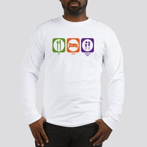 Eat Sleep Clinical Lab Long Sleeve T-Shirt
