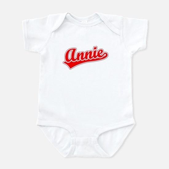 Retro Annie (Red) Infant Bodysuit