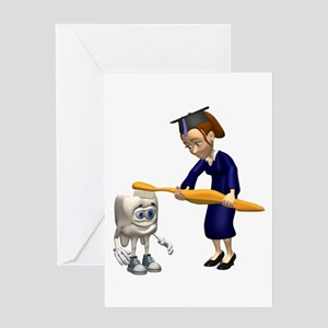 Dental Hygiene Graduation Greeting Card