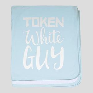 Token White Guy baby blanket