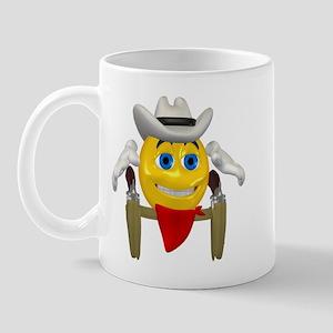 Gun Slinger Cowboy Mug