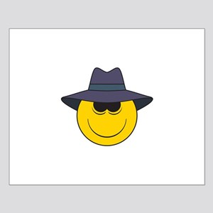 Private Eye/Spy Smiley Face Small Poster