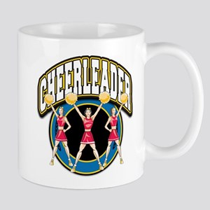 Cheerleader Logo Mug