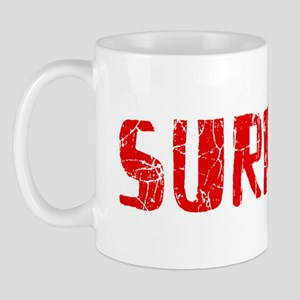 Surprise Faded (Red) Mug