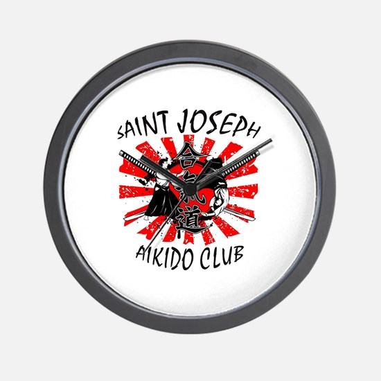 Cute Aikido Wall Clock