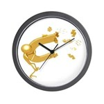 Money Reiki Infused Wall Clock Adds Beauty & P