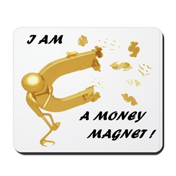 Money Reiki Infused Mousepad
