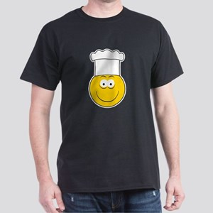 Chef/Cook Smiley Face Dark T-Shirt