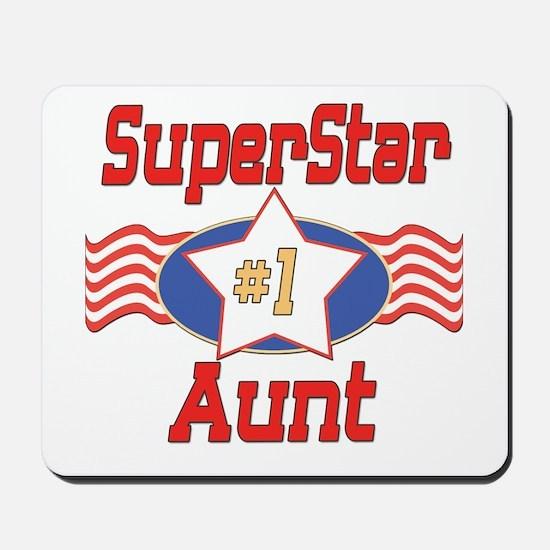 Superstar Aunt Mousepad