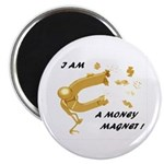 Stick it On! Real Money Reiki Infused Magnet!