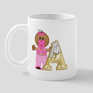 Baby Initials - A Mug