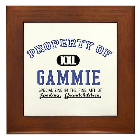 Property of Gammie Framed Tile